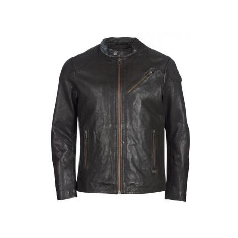 Chevignon STEEL men's Leather jacket in Brown