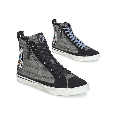Diesel D-VELOWS MID PATCH men's Shoes (High-top Trainers) in Black
