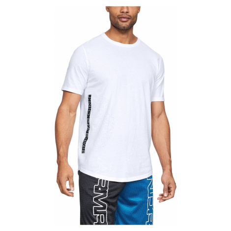 Under Armour Baseline Flip Side T-shirt White