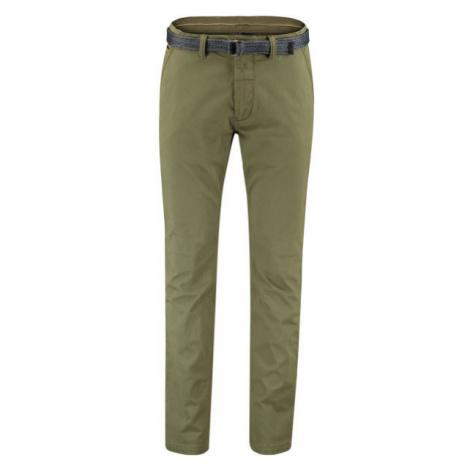 Green men's trousers