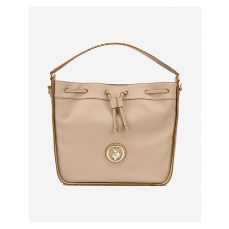U.S. Polo Assn Brookshire Hobo Handbag Brown Beige