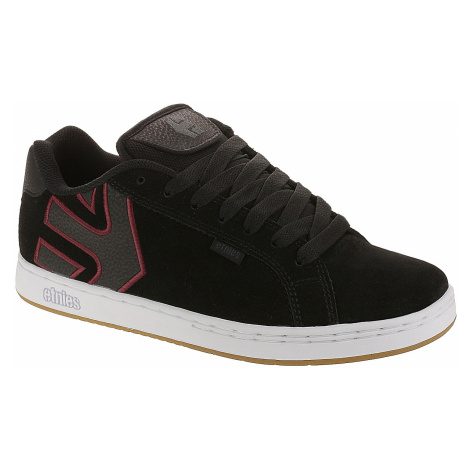 shoes Etnies Fader - Black/White/Burgundy - men´s