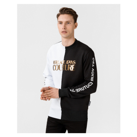 Versace Jeans Couture Sweatshirt Black White