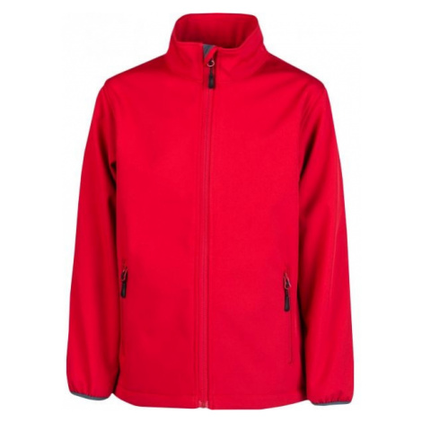 Kensis RORI JR red - Boys' softshell jacket