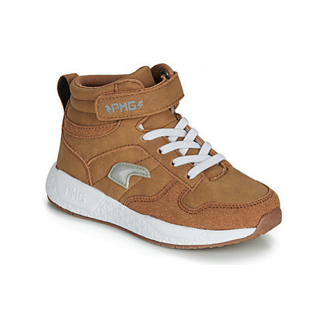 Primigi MEGA boys's Children's Shoes (High-top Trainers) in Brown