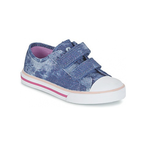 Chicco CARONA girls's Children's Shoes (Trainers) in Blue