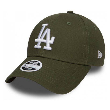 New Era 9Forty Womens Essential LA Dodgers Rifle Green