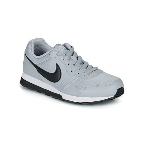 Nike MD RUNNER 2 GRADE SCHOOL boys's Children's Shoes (Trainers) in Grey