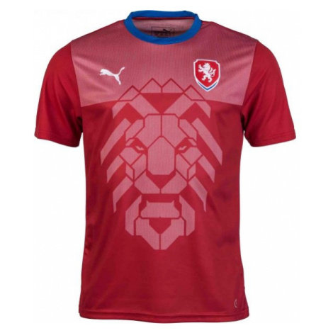 Puma CZECH REPUBLIC B2B red - Men's T-shirt