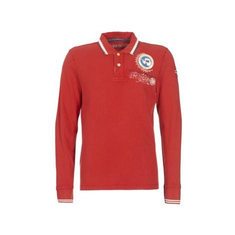 Napapijri GANDY men's Polo shirt in Red
