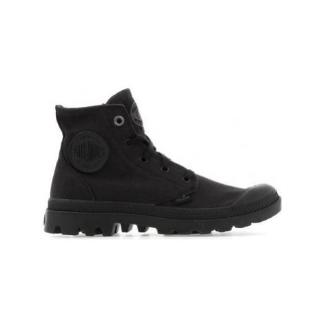Palladium Mono Chrome 73089-001-M men's Shoes (High-top Trainers) in Black