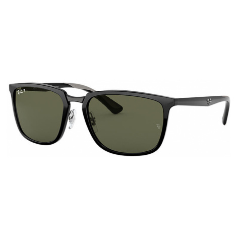 Ray-Ban Rb4303 Man Sunglasses Lenses: Green Polarized, Frame: Brown - RB4303 601/9A 57-19