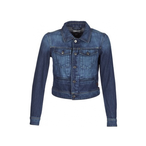 G-Star Raw D-STAQ S DC DNM JKT WMN women's Denim jacket in Blue