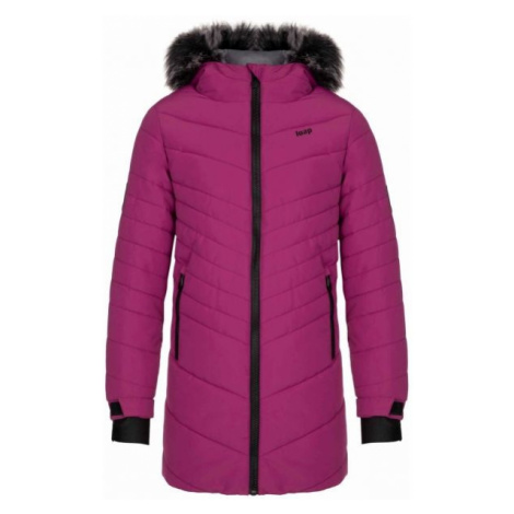 Loap OKTANA violet - Girls' winter coat