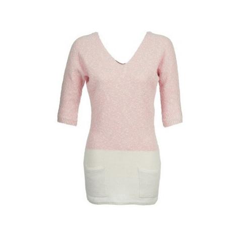 Naf Naf MILA women's Tunic dress in Pink