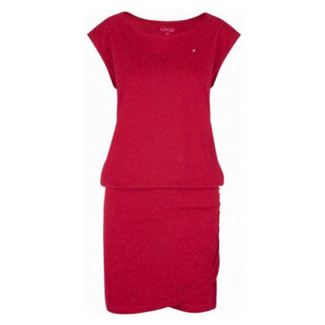 Loap BUKKI pink - Women's dress