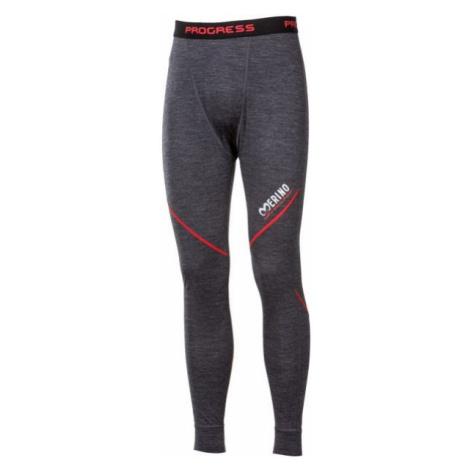 Progress MERINO LT-M grey - Men's functional underwear