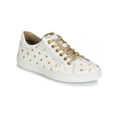 Bullboxer AHM025 girls's Children's Shoes (Trainers) in White