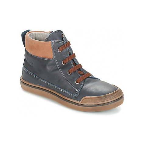 Citrouille et Compagnie JIK boys's Children's Mid Boots in Blue