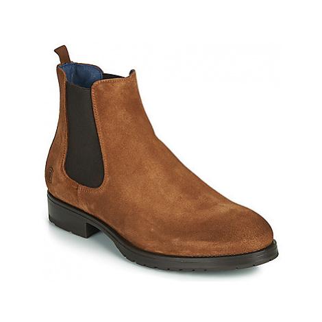 Casual Attitude LORNYX men's Mid Boots in Brown