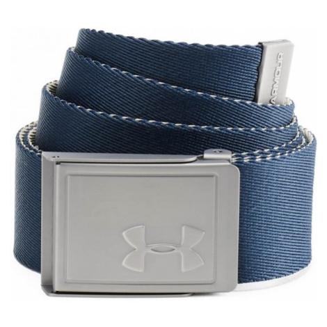 Under Armour MENS WEBBING BELT blue - Men's reversible belt