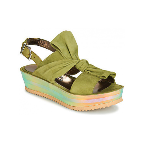 Papucei CONDE women's Sandals in Green