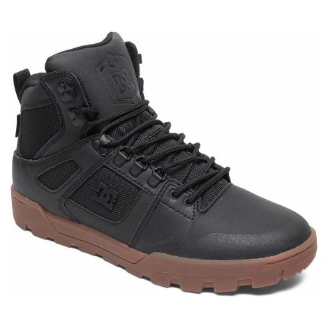 shoes DC Pure High -Top WR - BGM/Black/Gum - men´s