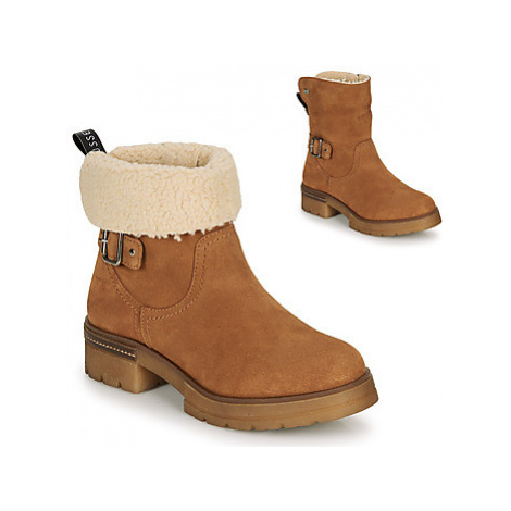 Musse Cloud GEOS women's Mid Boots in Brown Musse & Cloud