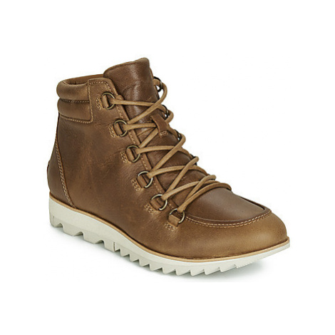 Sorel HARLOW LACE women's Mid Boots in Brown