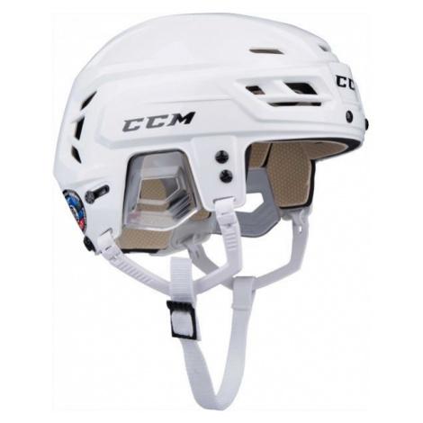 CCM TACKS 110 SR white - Hockey helmet