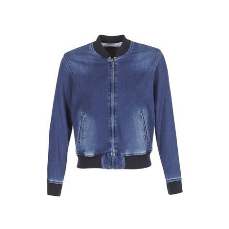 Blue women's bomber jackets