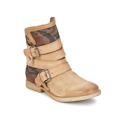 Airstep / A.S.98 TROP METAL women's Mid Boots in Beige
