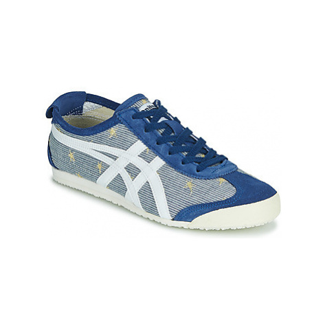 Onitsuka Tiger MEXICO 66 MIDNIGHT women's Shoes (Trainers) in Blue
