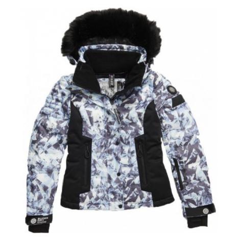 Superdry LUXE SNOW PUFFER white - Women's ski jacket
