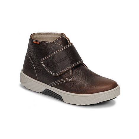 Pablosky 593491 boys's Children's Mid Boots in Brown