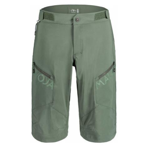 Maloja PINM dark green - Men's biking shorts
