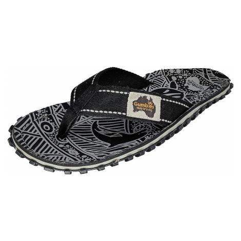 flip flops Gumbies Islander - Black Signature