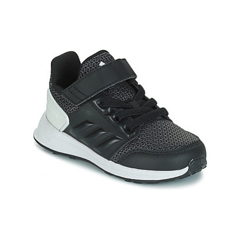 Adidas RAPIDARUN EL I girls's Children's Sports Trainers in Black