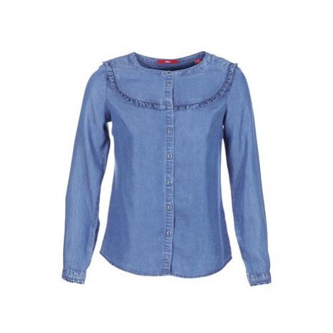 S.Oliver DADU women's Shirt in Blue