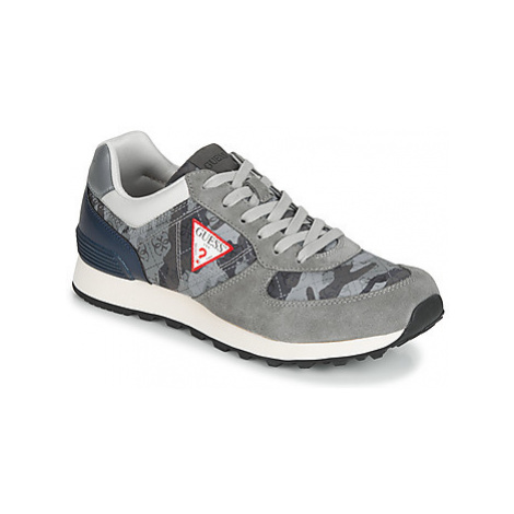 Guess CHARLIE men's Shoes (Trainers) in Grey