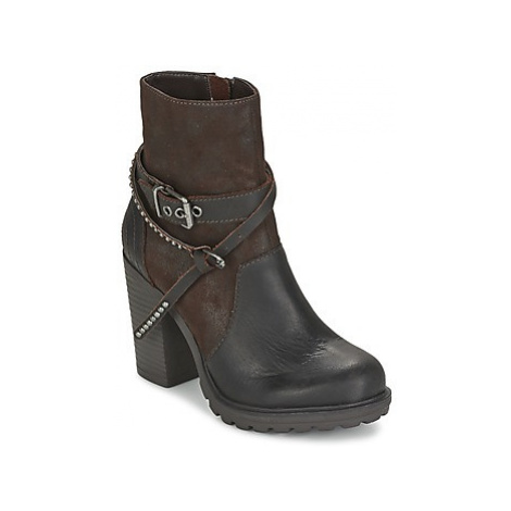 Replay SANDER women's Low Ankle Boots in Brown