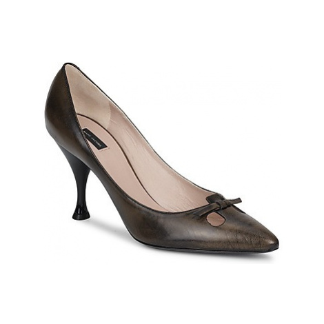 Marc Jacobs MALIZIA women's Court Shoes in Brown
