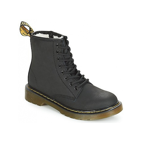 Dr Martens SERENA JUNIOR girls's Children's Mid Boots in Black