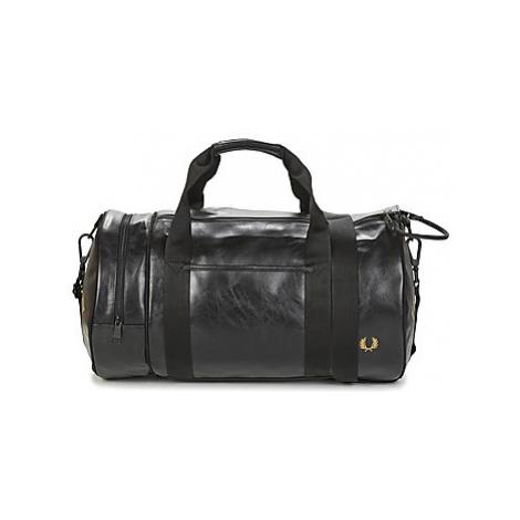 Fred Perry TONAL BARREL BAG men's Sports bag in Black