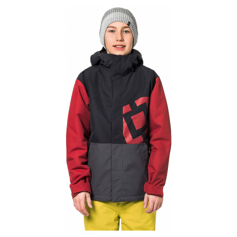 jacket Horsefeathers Falcon - Red - boy´s