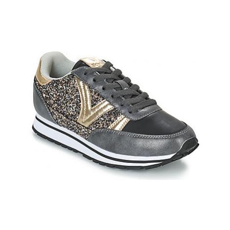 Victoria COMETA GLITTER women's Shoes (Trainers) in Black