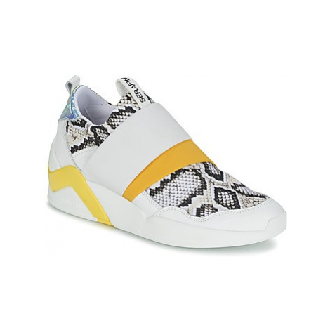 Serafini DOVER women's Shoes (High-top Trainers) in White