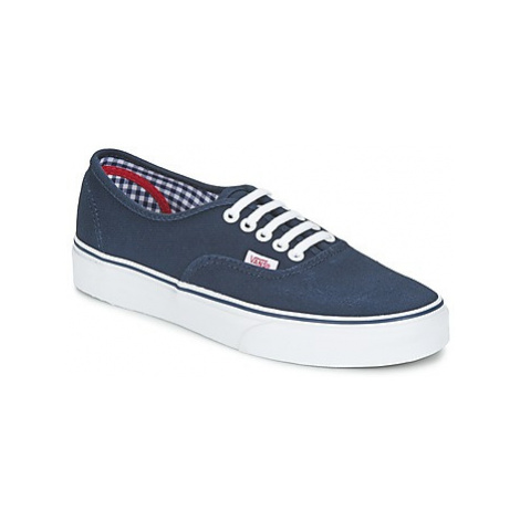 Vans AUTHENTIC women's Shoes (Trainers) in Blue