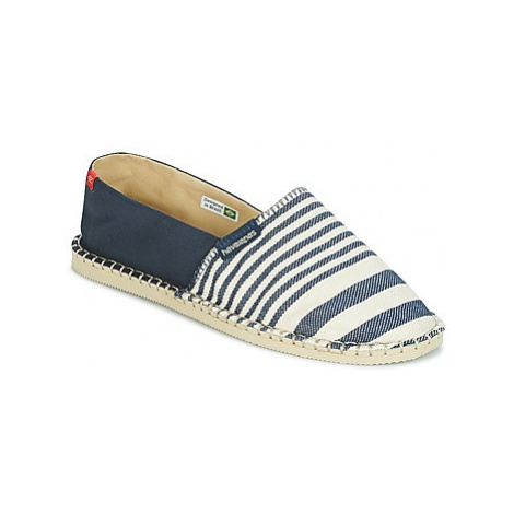 Havaianas ORIGINE PRINT CLASSICA II women's Espadrilles / Casual Shoes in Blue