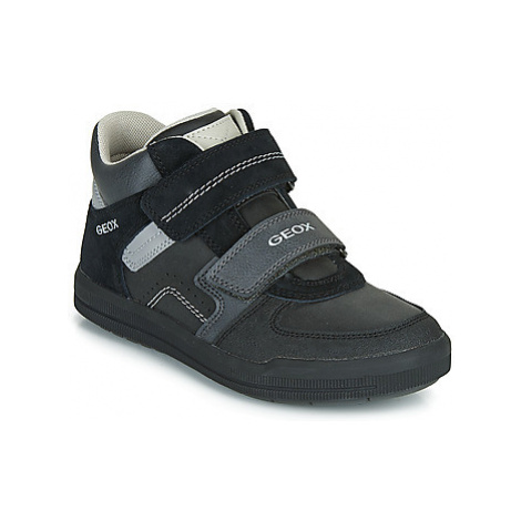 Geox J ARZACH BOY boys's Children's Shoes (High-top Trainers) in Black